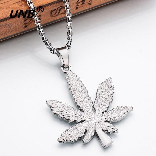 Top Tree Leaf Necklace and Pendant - TEROF