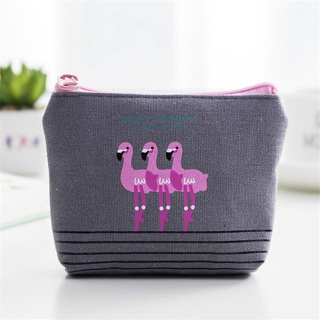 Flamingo Coin Purse - TEROF
