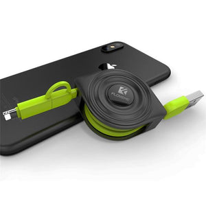 Retractable Pulley Phone Charger - TEROF