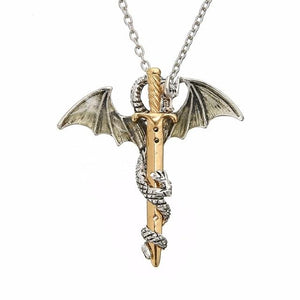 Glowing Dragon Necklace - TEROF