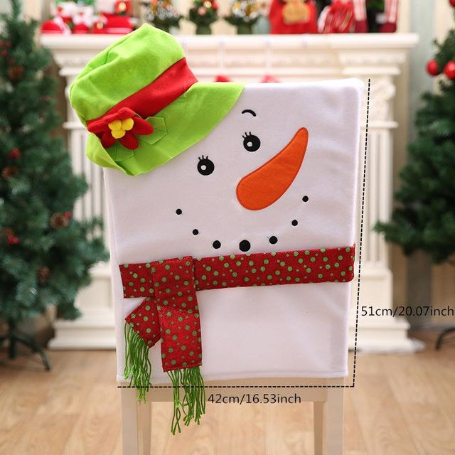 Christmas Chair Covers - TEROF