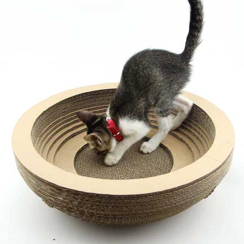 Cat Scratcher Bed Pettish Cat Products