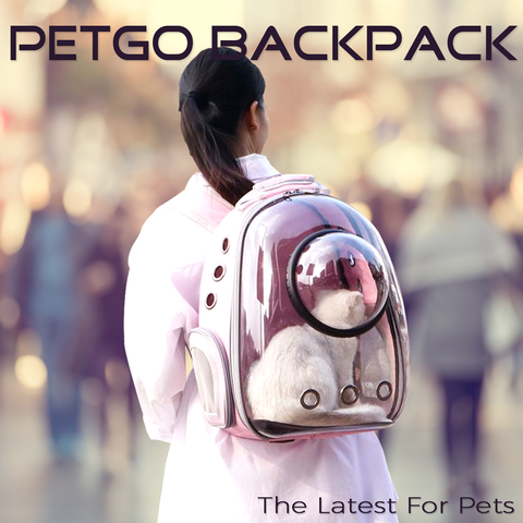 PetGo Backpack Pet Carrier Pettish