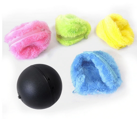 ball alive pet dog cat rolling toy