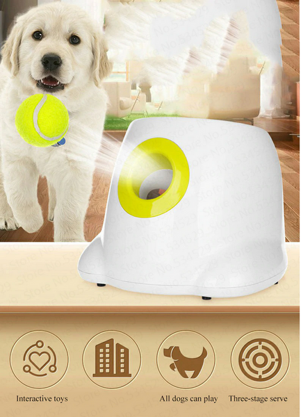 ball launcher dog pet toy