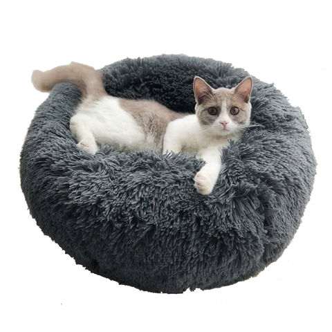 anti anxiety pet bed round cat bed