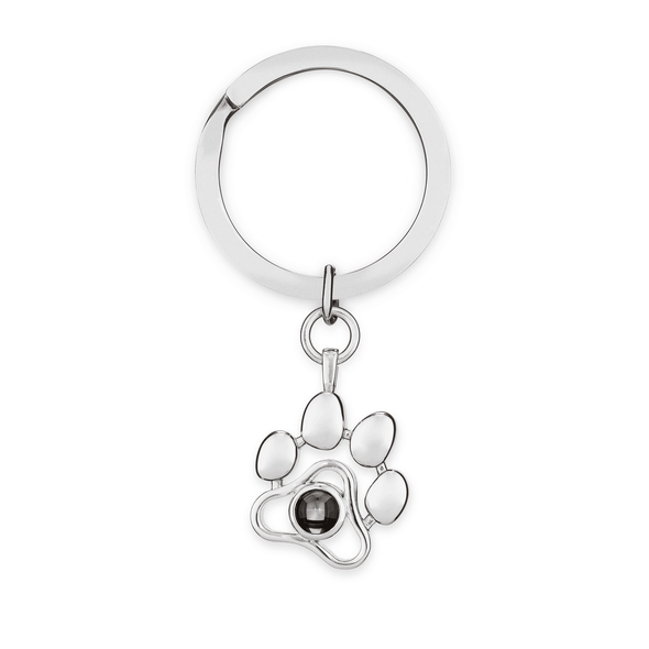 PETPRISM Personalized Paw Necklace/Keyring 925 Silver