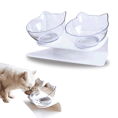 Easy Digestion Elevated Kitty Bowls