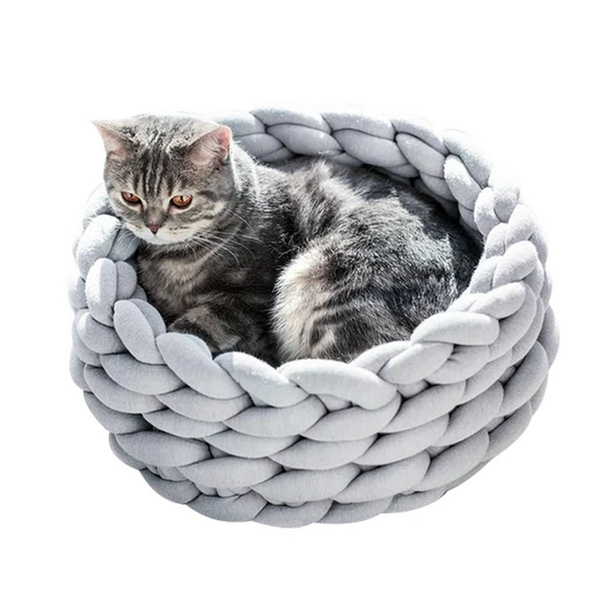 Knitted Nest Pet Bed
