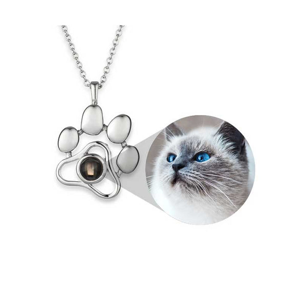 PETPRISM Personalized Pet Necklace/Keyring 925 Silver