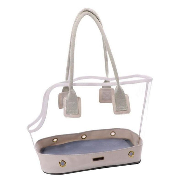 Clear Tote Pet Bag