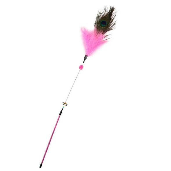 Peacock Wand Cat Toy