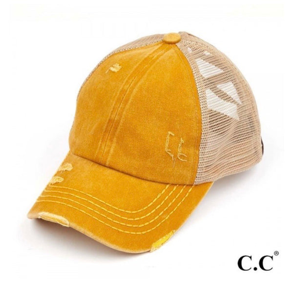 C.C. Pony Caps multiple colors