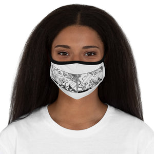 Copy of Hagar Why Me?! Why Not! Fitted Polyester Face Mask