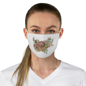 Olive Oyl Fabric Face Mask
