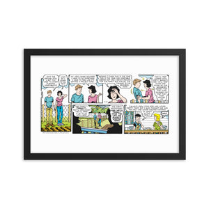 Sally Forth Framed Poster