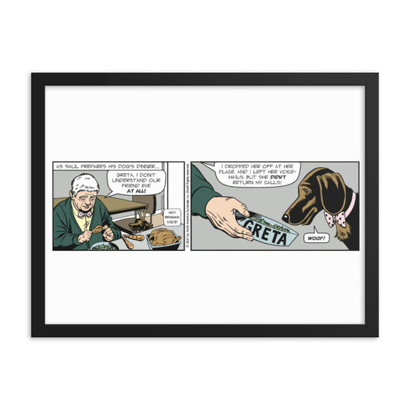 Mary Worth Framed poster
