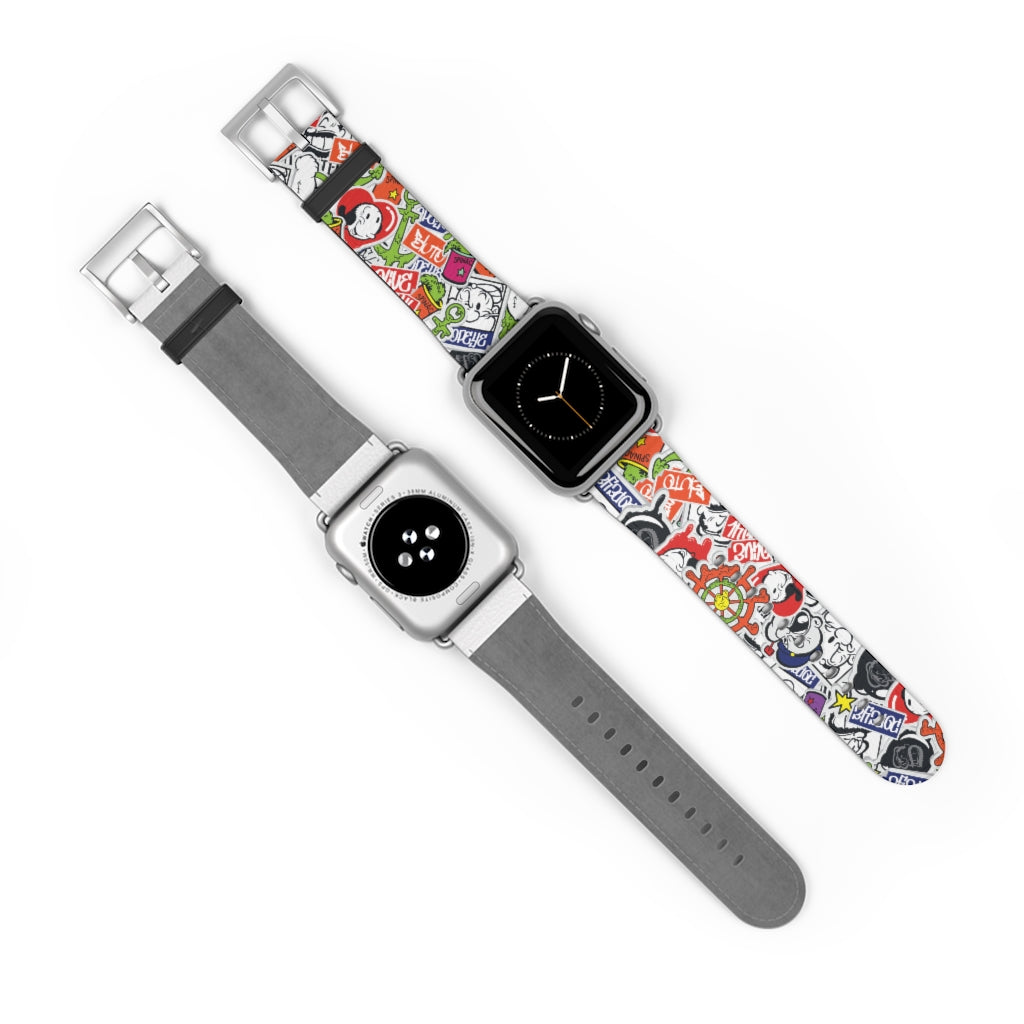 Popeye and Friends 38mm Apple Watch Band