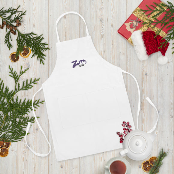 Zits Embroidered Apron