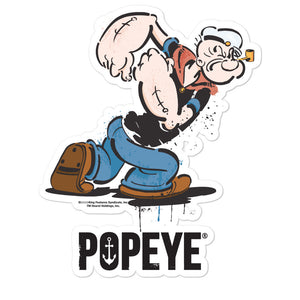 Popeye Bubble-free stickers