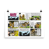 Mark Trail Photo paper poster