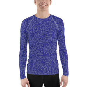 Popeye Men's Sports Rash Guard