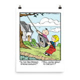 Dennis The Menace Photo paper poster