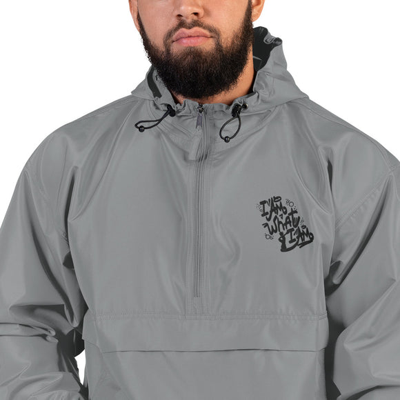 Popeye Embroidered Champion Packable Jacket