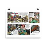 Prince Valiant Photo paper poster