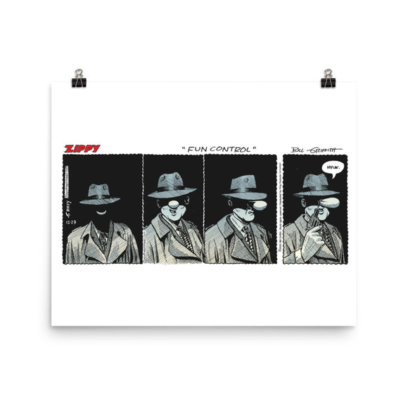 Zippy Photo paper poster