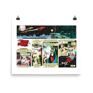 Flash Gordon Photo Paper Poster