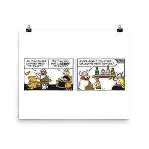Hagar The Horrible Photo Paper Poster