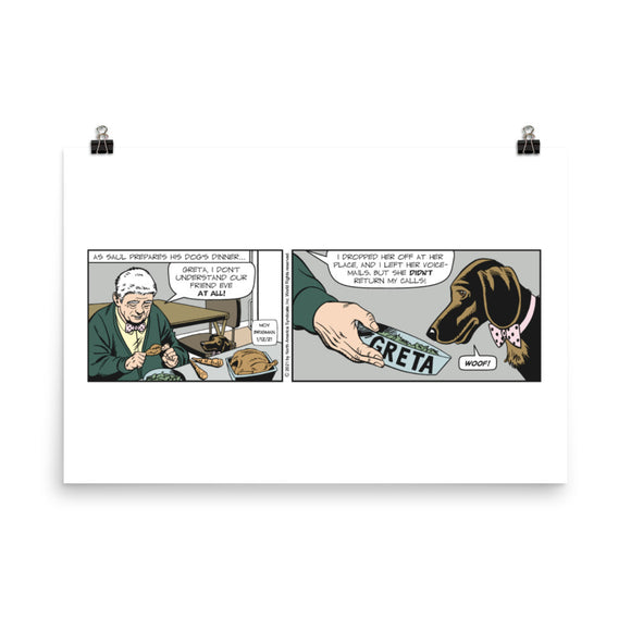 Mary Worth Photo paper poster