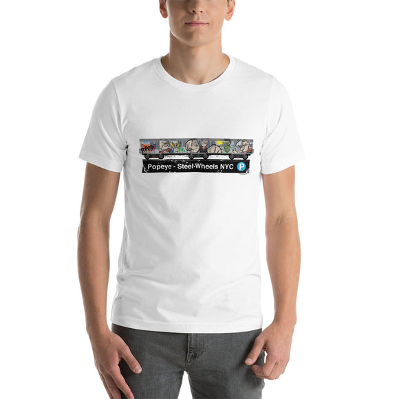 Popeye NYC -Subway Train Short-Sleeve Unisex T-Shirt