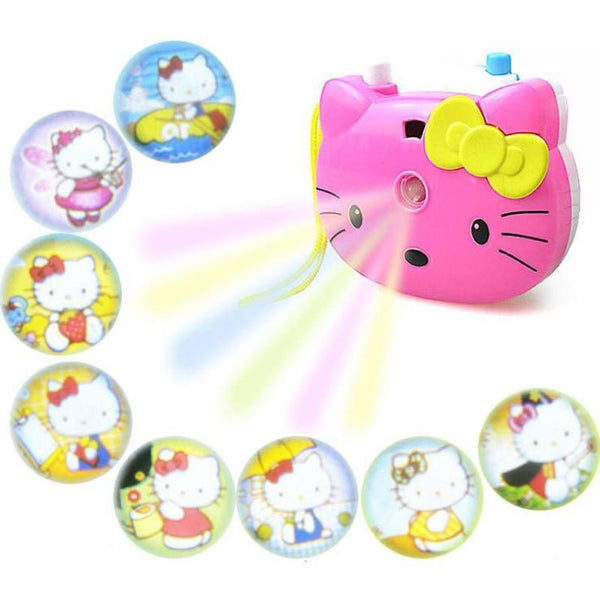 Hello Kitty Light Projection Camera 🐱 💜