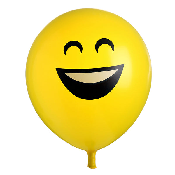 10pcs/set Emoji Balloons Smiley Face Expression