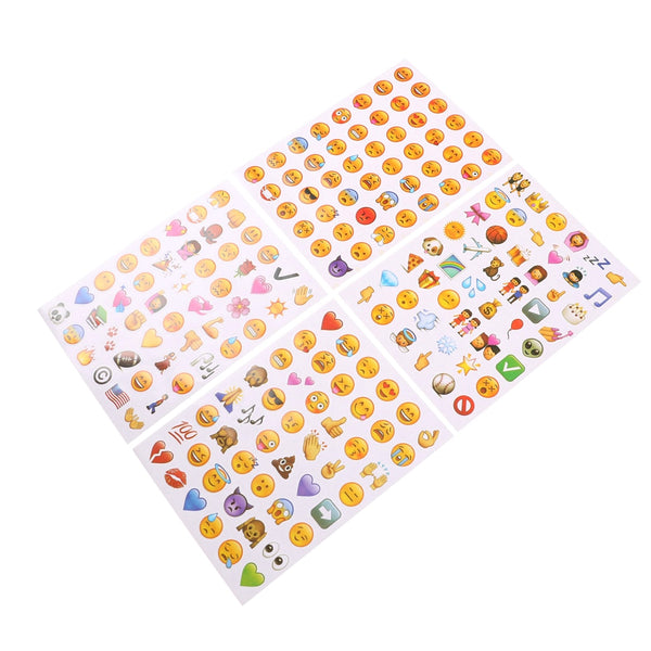 Colorful Emoji Stickers ❤️ 😂 💯