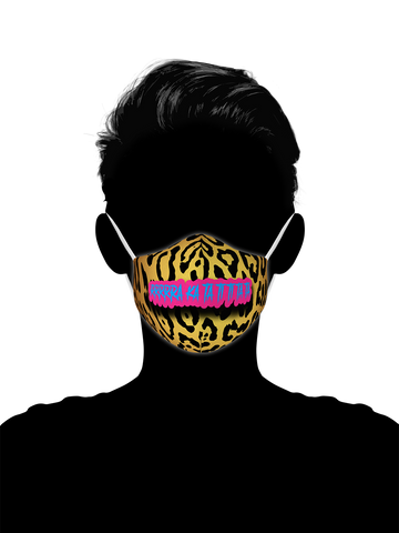 Jungle Kitty Tigerking - Face Wrap