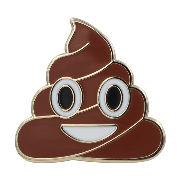 Poop Emoji Lapel Pin Series – Poop Enamel Pin Series