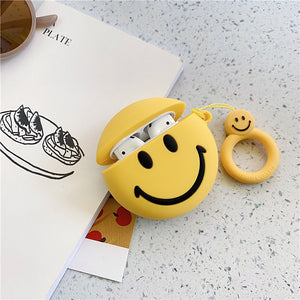 Cute Smiley Face Airpods case 😊