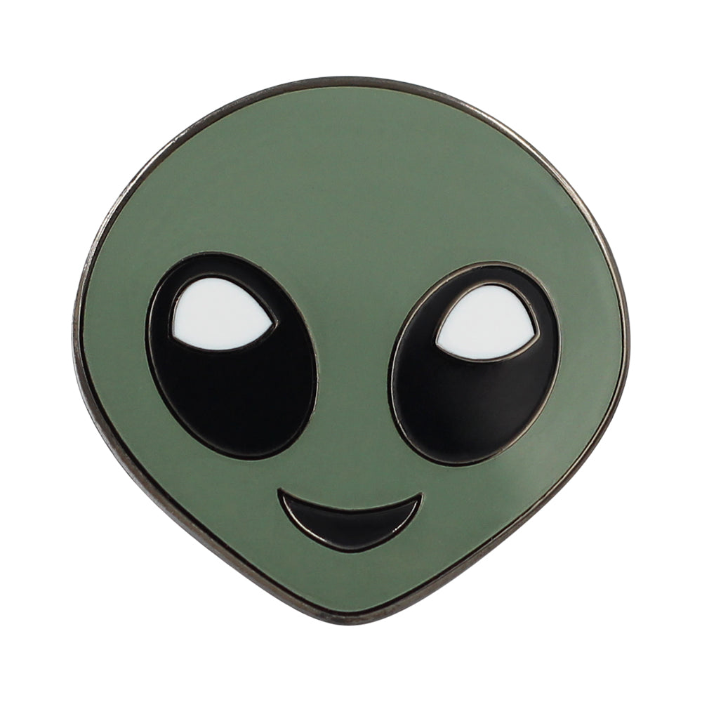 Alien Emoji – Enamel Pin For Your Life 👽
