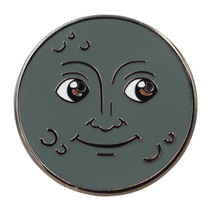Moon Emoji – New Moon & Full Moon Enamel Pins 🌚