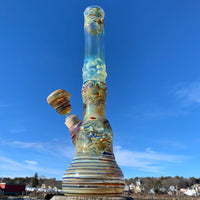 1/2 Worked (B) by Heady Old School Glass - Functional Glass