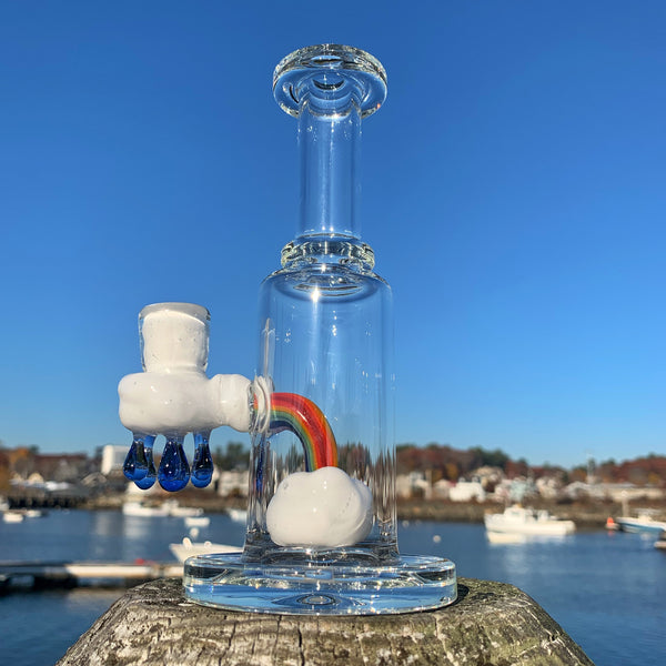 10mm Up In The Clouds Rig (A) by Samson Glass - Functional Glass