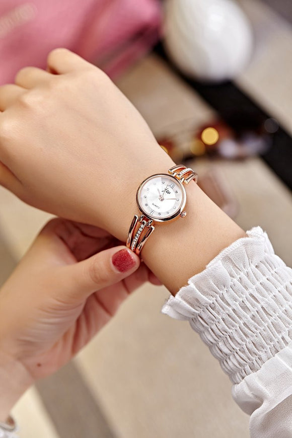 Luxury Brand Rose Gold Watches Women