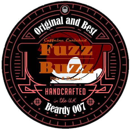 Fuzz Buzz Beard Growth Kit: Beardy 007 Balm 30ml Fuzz Buzz Beard balm