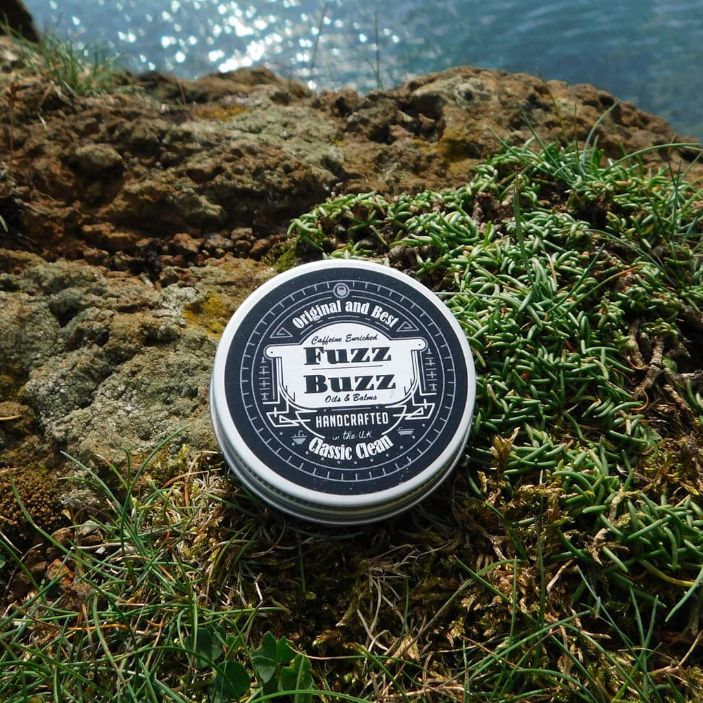 Fuzz Buzz Beard Growth Kit: Classic Clean Balm 30ml Fuzz Buzz Beard balm