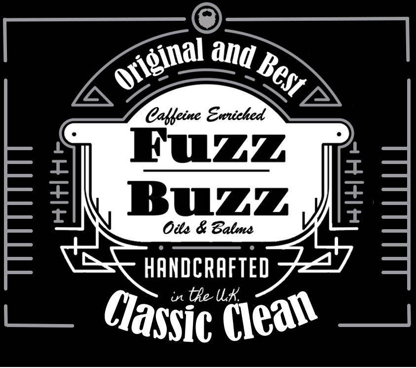 Beard Growth Kit Classic Clean Oil 30ml Beard Oil Fuzz-Buzz.co.uk