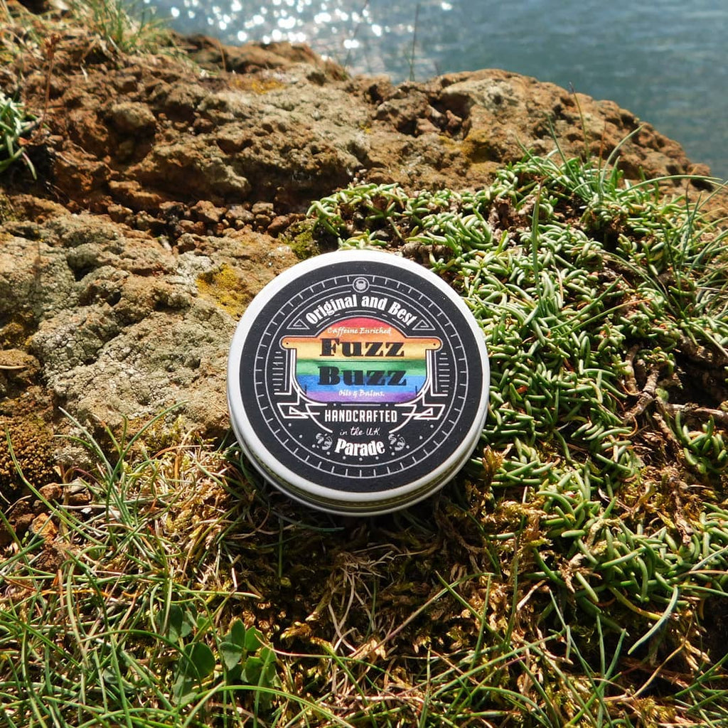 Fuzz Buzz Beard Growth Kit: Parade Balm 30ml Fuzz Buzz Beard balm