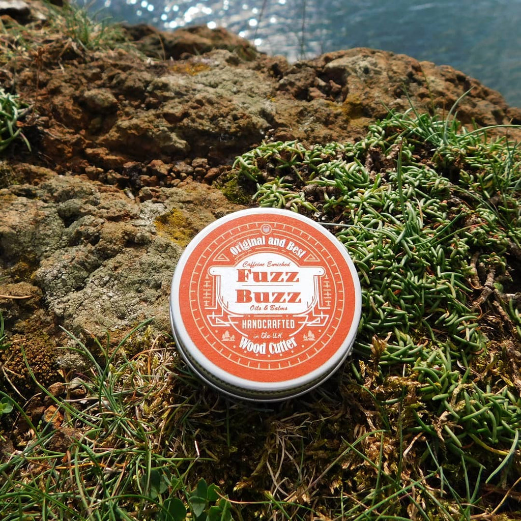 Fuzz Buzz Beard Growth Kit: Wood Cutter Balm 30ml Fuzz Buzz Beard balm